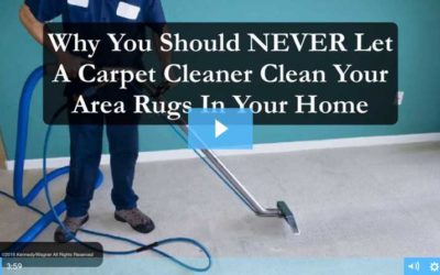 Never Let a Carpet Cleaner Clean Your Rugs