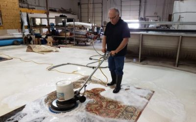 DO YOU HAVE JUST ONE METHOD OF CLEANING A RUG?